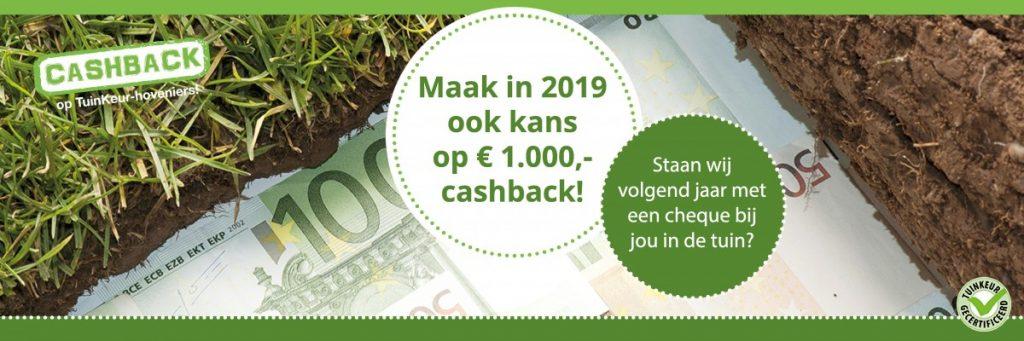 deHovenier.nu - Cashback actie 2019
