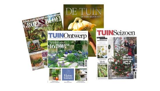 Tijdschriften en boeken over tuinieren